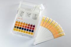 δείκτης pH Στοκ φωτογραφία με δικαίωμα ελεύθερης χρήσης