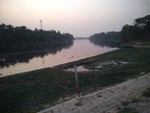 Δείτε από την πλευρά ποταμών στοκ φωτογραφία