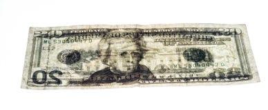 Δείτε μέσω των ΗΠΑ το λογαριασμό 20 δολαρίων στοκ φωτογραφία με δικαίωμα ελεύθερης χρήσης