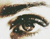 Δείτε τα θαύματα από τα μάτια σας στοκ φωτογραφίες