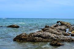 Δείτε την άποψη από το βράχο Στοκ φωτογραφία με δικαίωμα ελεύθερης χρήσης
