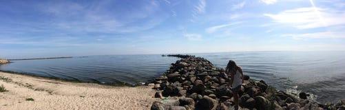 Δείτε τη θάλασσα Στοκ Εικόνες
