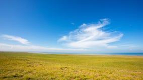 Δείτε τη λίμνη Qinghai στη δυτική πλευρά 2 στοκ εικόνες
