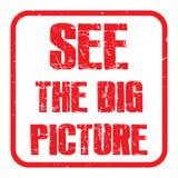 Δείτε τη μεγάλη εικόνα διανυσματική απεικόνιση