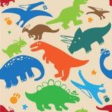 Δεινόσαυρος σχεδίων Στοκ εικόνα με δικαίωμα ελεύθερης χρήσης