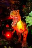 Δεινόσαυρος τ-Rex ζωντανός με τα δόντια Στοκ Εικόνα