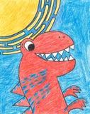 Δεινόσαυρος τ-Rex Στοκ φωτογραφία με δικαίωμα ελεύθερης χρήσης
