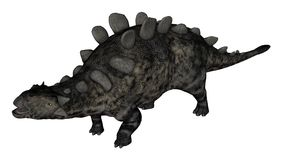Δεινόσαυρος Chrichtonsaurus που στέκεται - τρισδιάστατος δώστε Στοκ Εικόνες