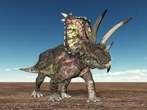 δεινόσαυρος pentaceratops ελεύθερη απεικόνιση δικαιώματος