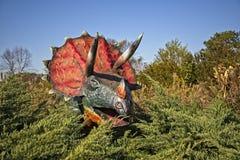 Δεινόσαυρος Pentaceratops στοκ φωτογραφία