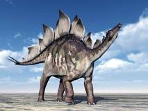 Δεινόσαυρος Stegosaurus Στοκ Εικόνα
