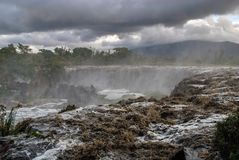 Δεκατέσσερις πτώσεις Thika Κένυα Αφρική στοκ εικόνα