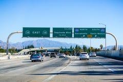 2 Δεκεμβρίου 2018 Λος Άντζελες/ασβέστιο/ΗΠΑ - ανταλλαγή αυτοκινητόδρομων μέσα στοκ εικόνες με δικαίωμα ελεύθερης χρήσης