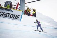 28 Δεκεμβρίου 2017 - Bormio Ιταλία - Παγκόσμιο Κύπελλο σκι Audi FIS Στοκ Φωτογραφίες