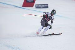 28 Δεκεμβρίου 2017 - Bormio Ιταλία - Παγκόσμιο Κύπελλο σκι Audi FIS Στοκ Εικόνα