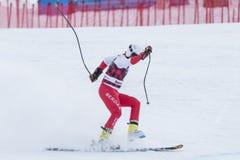 28 Δεκεμβρίου 2017 - Bormio Ιταλία - Παγκόσμιο Κύπελλο σκι Audi FIS Στοκ φωτογραφίες με δικαίωμα ελεύθερης χρήσης