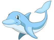 δελφίνι χαρακτήρα κινουμ ελεύθερη απεικόνιση δικαιώματος