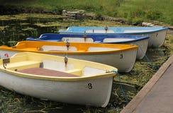 Δεμένες βάρκες Στοκ εικόνες με δικαίωμα ελεύθερης χρήσης