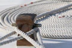 Δεμένη βάρκα στοκ εικόνες