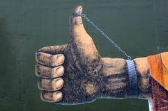 δεμένος με χειροπέδες στοκ εικόνα με δικαίωμα ελεύθερης χρήσης