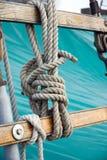 Δεμένο σχοινί στοκ φωτογραφία με δικαίωμα ελεύθερης χρήσης
