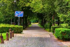 Δενδρώδης αγροτικός δρόμος στοκ φωτογραφία με δικαίωμα ελεύθερης χρήσης
