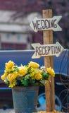 Δεξίωση γάμου εν αφθονία στοκ εικόνες