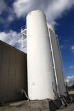 Δεξαμενές αερίου Στοκ Εικόνες