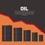 Δεξαμενές με το πετρέλαιο Στοκ Εικόνες