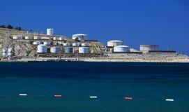 Δεξαμενές πετρελαίου Στοκ εικόνα με δικαίωμα ελεύθερης χρήσης