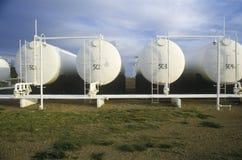 Δεξαμενές πετρελαίου τριφυλλιών διαμαντιών σε Turpin, ΕΝΤΆΞΕΙ Στοκ φωτογραφίες με δικαίωμα ελεύθερης χρήσης
