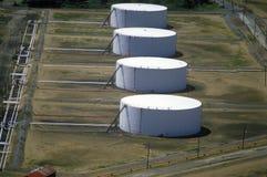 Δεξαμενές πετρελαίου, NJ Στοκ Εικόνες