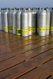 δεξαμενές σκαφάνδρων οξ&upsilon στοκ φωτογραφία με δικαίωμα ελεύθερης χρήσης