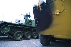 δεξαμενές στρατού Στοκ Εικόνες