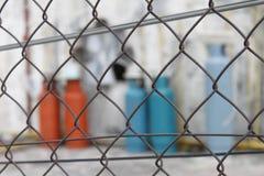 Δεξαμενές του αερίου Στοκ Φωτογραφίες