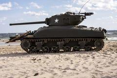 Δεξαμενή â€ «WW ΙΙ Sherman Στοκ εικόνες με δικαίωμα ελεύθερης χρήσης
