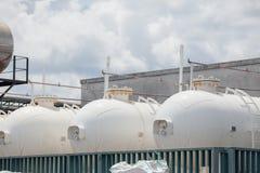Δεξαμενή αερίου Στοκ εικόνα με δικαίωμα ελεύθερης χρήσης