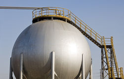 δεξαμενή αερίου Στοκ εικόνες με δικαίωμα ελεύθερης χρήσης