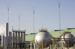 δεξαμενή αερίου Στοκ Εικόνες
