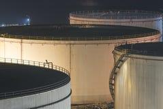 Δεξαμενή αποθήκευσης πετρελαίου Στοκ Εικόνες