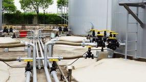 Δεξαμενή αποθήκευσης πετρελαίου Στοκ φωτογραφίες με δικαίωμα ελεύθερης χρήσης