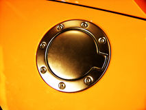 δεξαμενή καυσίμων αυτοκ Στοκ εικόνες με δικαίωμα ελεύθερης χρήσης