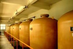 δεξαμενή λαβής αερίου α&epsi Στοκ φωτογραφίες με δικαίωμα ελεύθερης χρήσης