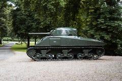 Δεξαμενή μάχης του Herman στον κήπο του αερομεταφερόμενου μουσείου Στοκ Φωτογραφίες