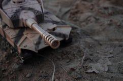 Δεξαμενή παιχνιδιών στην άμμο στοκ φωτογραφία