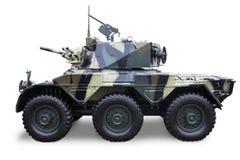 Δεξαμενή στρατού που απομονώνεται Στοκ φωτογραφία με δικαίωμα ελεύθερης χρήσης