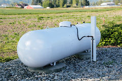 Δεξαμενή φυσικού αερίου Στοκ Φωτογραφίες