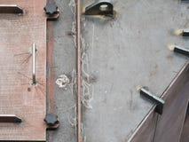 Δεξαμενή χάλυβα κάτω από την κατασκευή Στοκ εικόνες με δικαίωμα ελεύθερης χρήσης