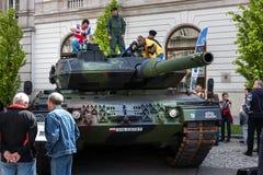 Δεξαμενή Leopard 2, βελτιωμένο 2A5 Στοκ Εικόνες