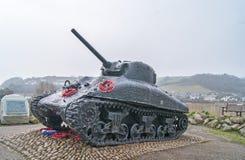 Δεξαμενή Sherman Στοκ εικόνα με δικαίωμα ελεύθερης χρήσης